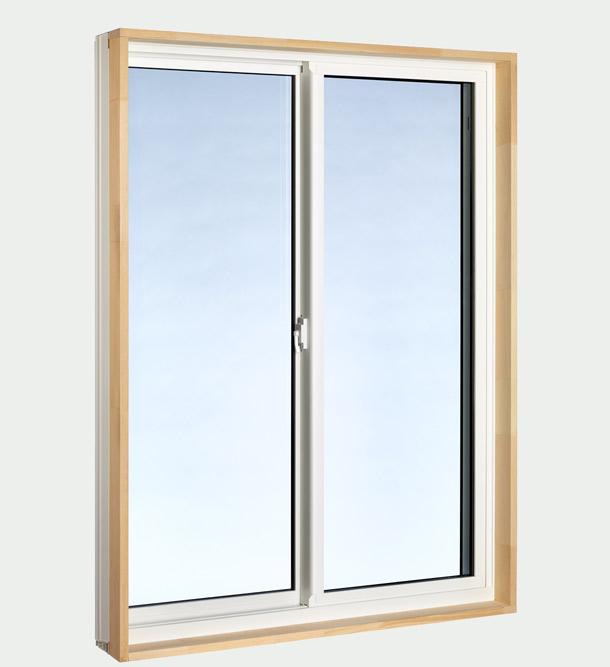 Horizontal Slider Window - interior side view
