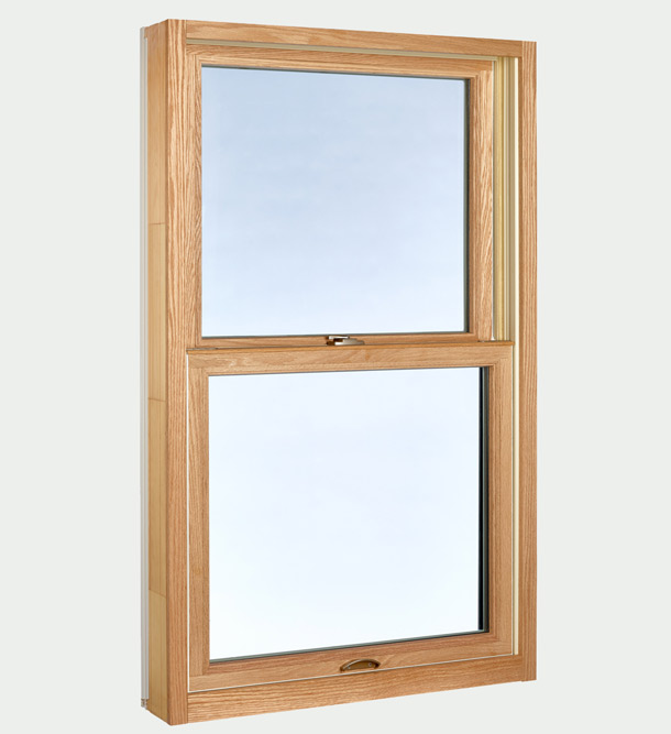 Single Hung Window - closed window inside view