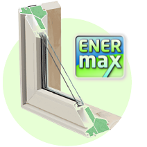 EnerMax energy efficient vinyl windows
