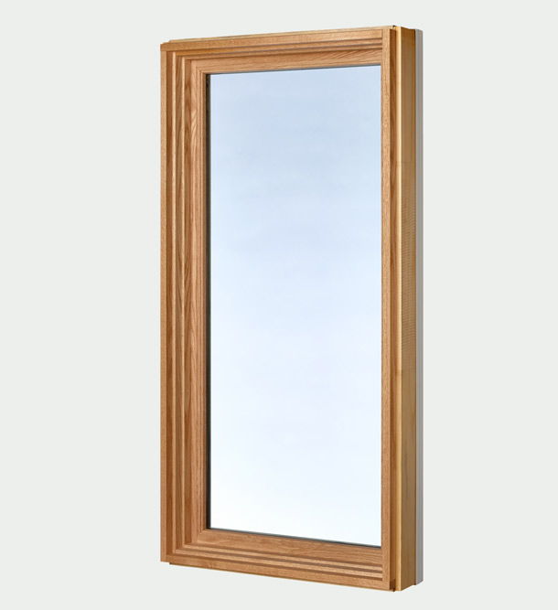 Fixed lite windows - liberty collection - side view interior